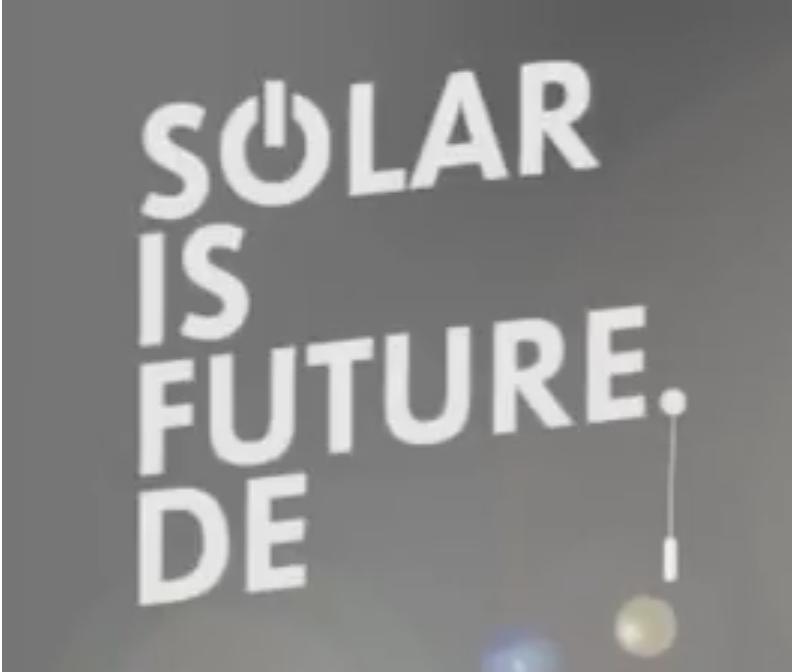 Solar is Future Trailer
